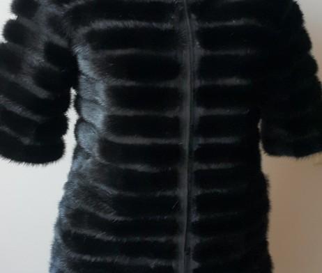 меховая жилетка фото 2016