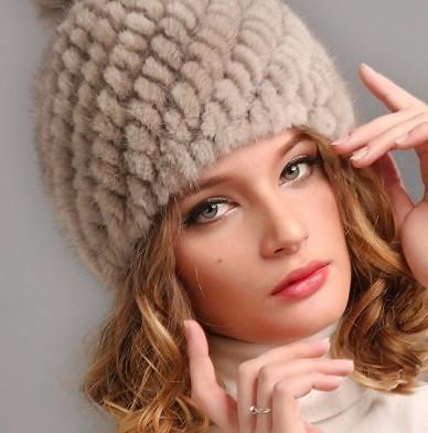 норковая женская шапка 2016