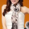 меховой шарф из меха норки 2016