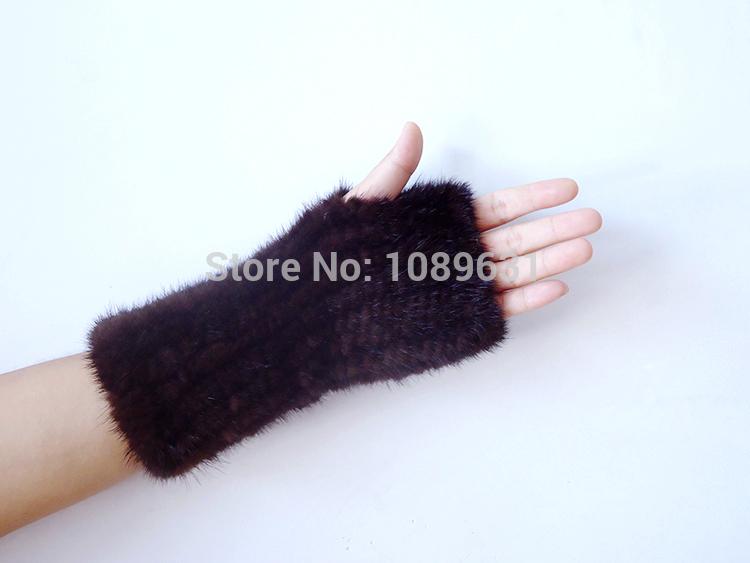 меховые перчатки