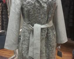 меховое пальто 2017