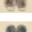 рукавицы из лисы