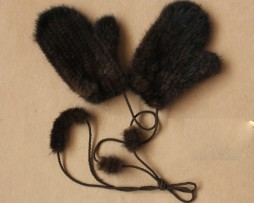 норковые рукавицы