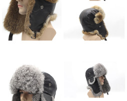 (Русский) Мужские зимние шапки