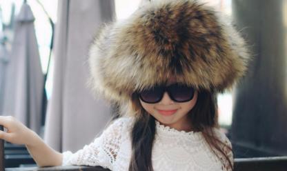 детская меховая шапка