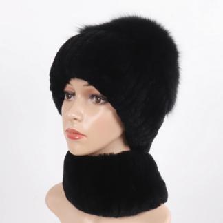 Купить женскую шапку в Риге