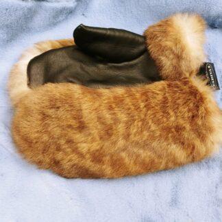 рукавицы из меха